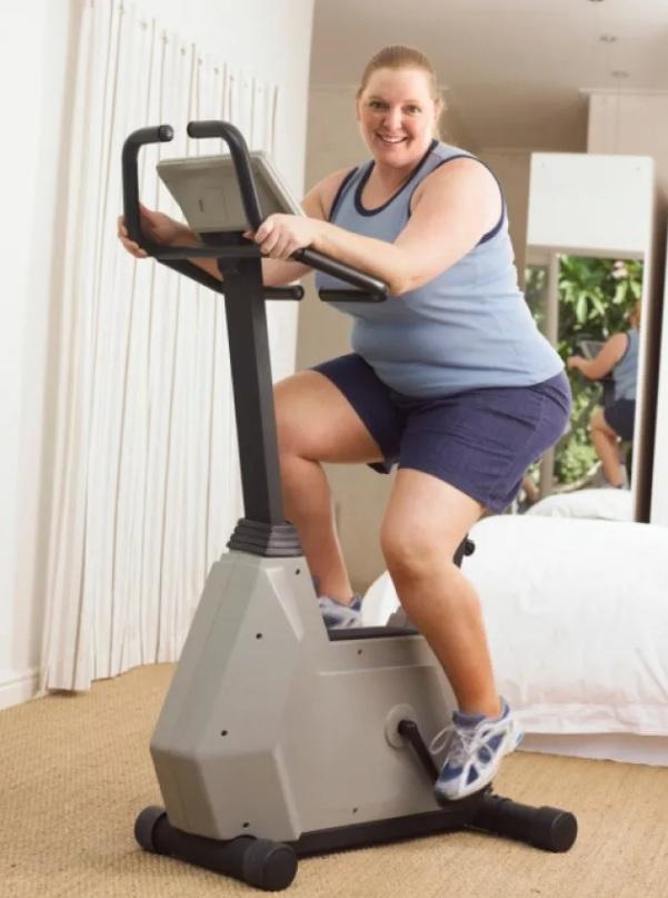 Фитнес для полных женщин
