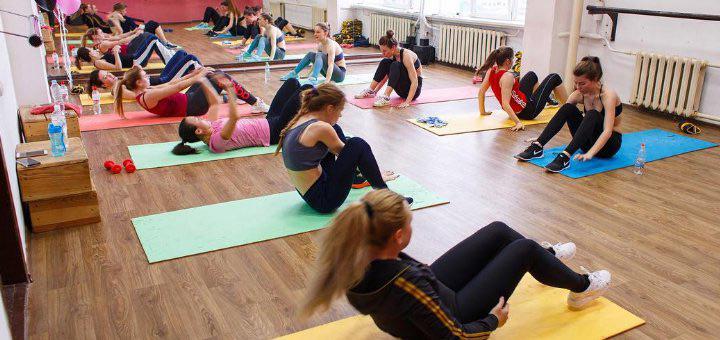 упражнения для фитнеса девушкам